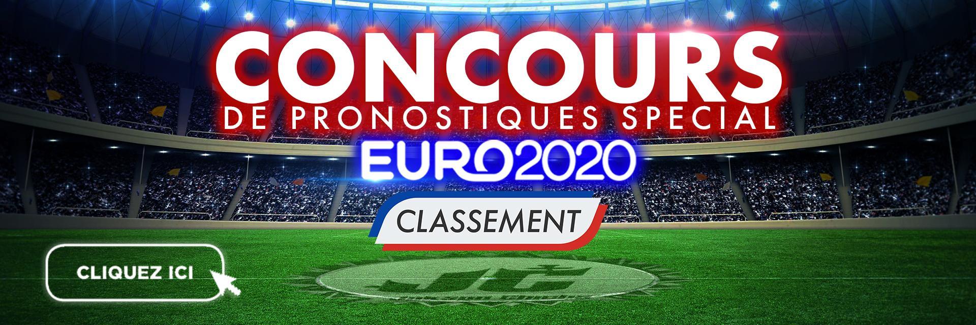 Banniere classement concours euro